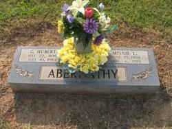 Mrs Minnie L. <i>Campbell</i> Abernathy