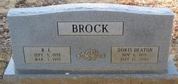 Doris <i>Deaton</i> Brock