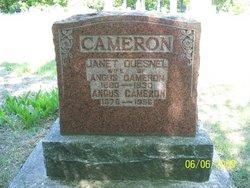 Janet <i>Quesnel</i> Cameron