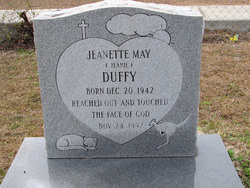 Jeanette May Jeanie Duffie