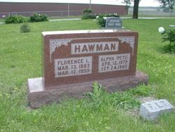 Florence Lee <i>Bauer</i> Hawman