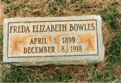 Freda Elizabeth Bowles