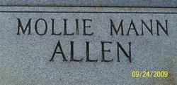 Mary R. Mollie <i>Horton</i> Allen