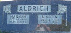 Hannah <i>Madsen</i> Aldrich