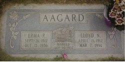 Erma <i>Rosequist</i> Aagard