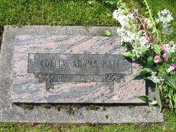Adelia Davis Dee <i>Adams</i> Hall