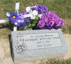 Katherine Louise Evangaline Kitty Lou <i>Burkhalter</i> Lynch