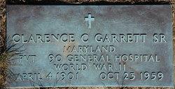 Clarence C Garrett, Sr