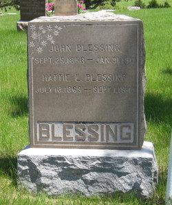 Hariett L. <i>Mason</i> Blessing
