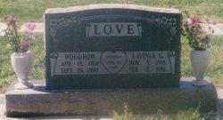 Lavinia Georgia <i>Dodson</i> Love