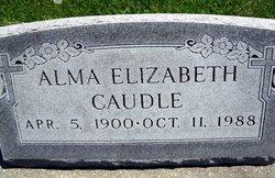 Alma Elizabeth <i>Talkington</i> Caudle