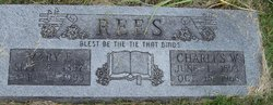 Mary Esther <i>Jones</i> Rees