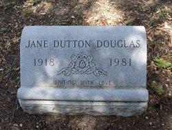 Jane <i>Dutton</i> Douglas