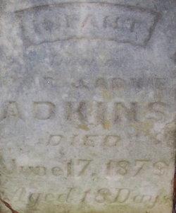 Infant Daughter Adkins