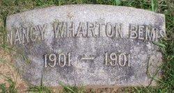 Nancy <i>Wharton</i> Bemis