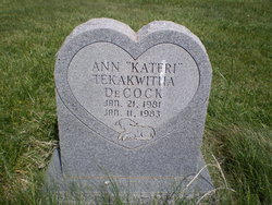 Ann Kateri Tekawitha DeCock