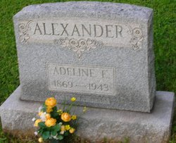 Adeline E <i>Mcgettigan</i> Alexander