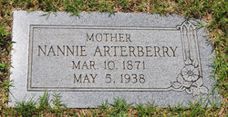 Nannie E. <i>Lane</i> Arterberry