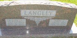 Bertha Stella <i>Hoyt</i> Langley