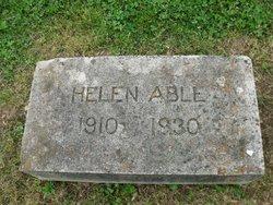 Helen <i>Jackson</i> Able
