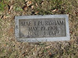 Mae Icy <i>Hoak</i> Purdham