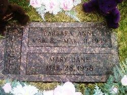 Barbara Anne Fliger