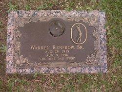 Warren Renfrow, Sr