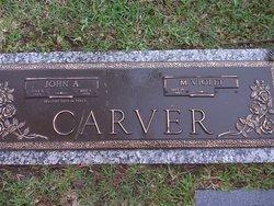 Margaret Violet <i>Hall</i> Carver