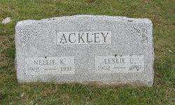 Nellie Lillian <i>Kelley</i> Ackley