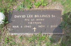 David Lee Billings, Sr