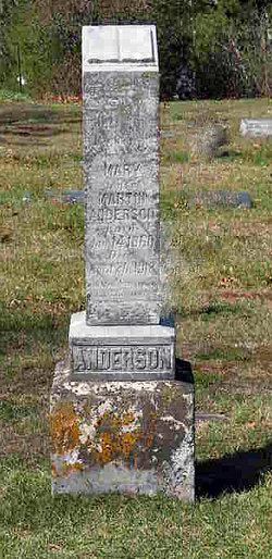 Mary <i>Nelson</i> Anderson