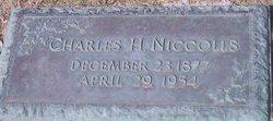 Charles Holmes Niccolls