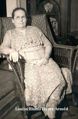 Louisa Emma <i>Hayes</i> Arnold