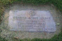 Sgt George Louis Boyle
