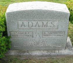 Esther Elizabeth <i>Rupert</i> Adams