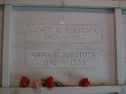 Anna M <i>Haiber</i> Rebstock