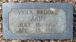 Viola Minnie <i>Brooks</i> Akin