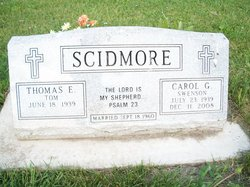 Carol G <i>Swenson</i> Scidmore