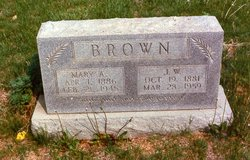 Mary Anice <i>Hawkins</i> Brown