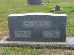 Aline <i>Wesson</i> Atkins