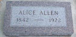 Alice Allen