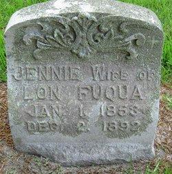 Virginia Jane Jennie <i>Prescott</i> Fuqua