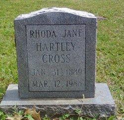 Rhoda Jane <i>Hartley</i> Cross