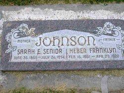 Sarah Elizabeth <i>Senior</i> Johnson