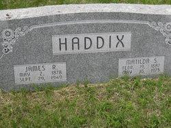 Matilda Sarah <i>Hammond</i> Haddix