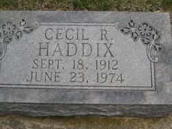 Cecil R. Haddix