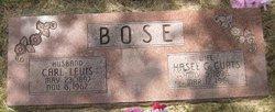 Hasel G <i>Curts</i> Bose