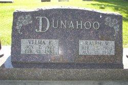 Velma Kathryn <i>Halterman</i> Dunahoo