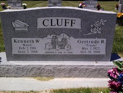 Gertrude <i>Bigelow</i> Cluff