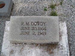 Robert Marion Dowdy